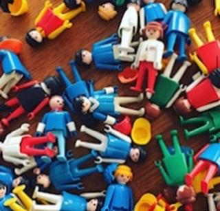 Familieopstellingen, Friendly Reflex, coaching, playmobil poppetjes